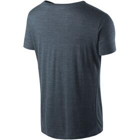 Houdini Activist Message t-shirt Heren grijs/blauw